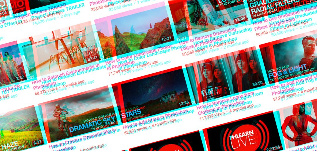 Tutoriels photo gratuits : 5 chaines Youtube à suivre