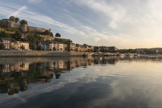 La Meuse et la Citadelle de Namur © Quanah Zimmerman