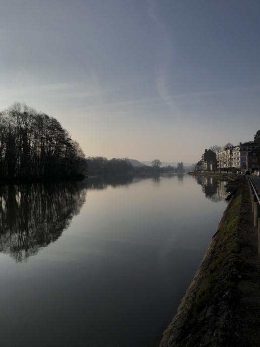 En bord de Meuse, à La Plante, Namur - Quanah Zimmerman