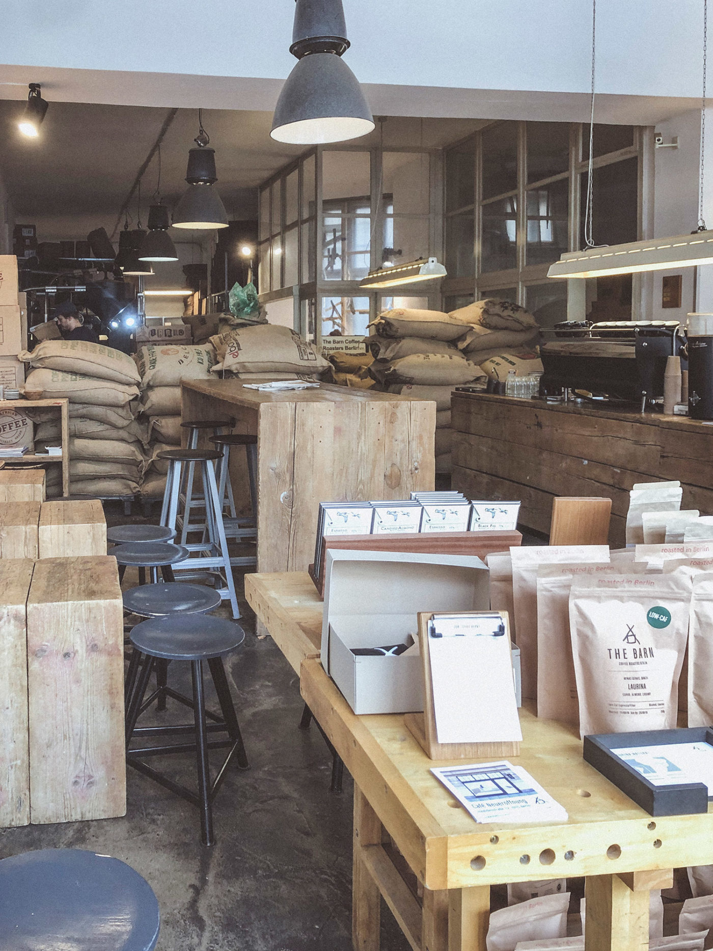The Barn Roastery. Where a single cup of coffee changed everything.